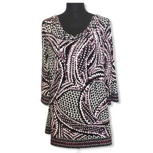 White House Black Market Tunic L